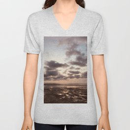 Clouds On The Water Unisex V-Neck