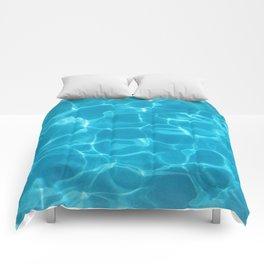 New Blue Pool Comforters