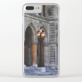 spring in vienna iib Clear iPhone Case