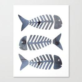 Fish Trio Canvas Print