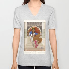 Queen of Swords - Azealia Banks Unisex V-Neck