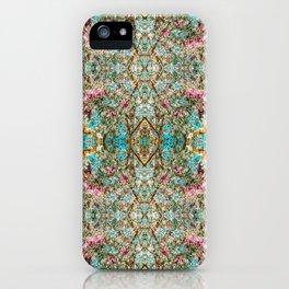 Faux Cherry Blossoms Op iPhone Case