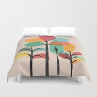 tropical Duvet Covers featuring Tropical Groove by Picomodi