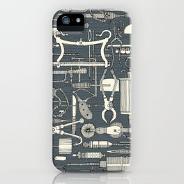 fiendish incisions metal iPhone Case