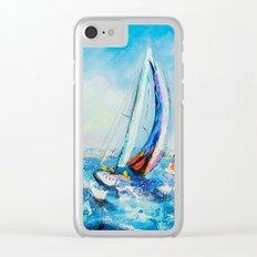 Regatta Clear iPhone Case