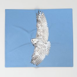 Flight of the goddess Throw Blanket