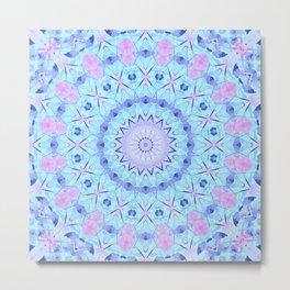 Crystal Kaleidoscope Metal Print