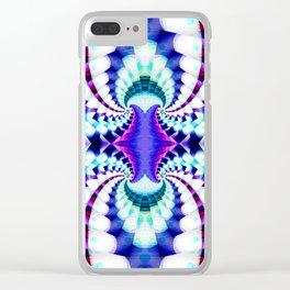 Midnight Magic Clear iPhone Case
