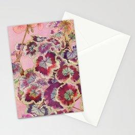 Pelargonium 2 Stationery Cards