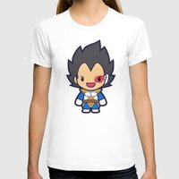 vegeta T-shirts featuring FunSized Vegeta by Papyroo