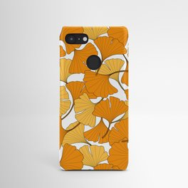 ginkgo leaves (orange) Android Case