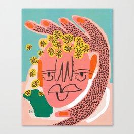 Tansy (Amber Vittoria x Teen Vogue) Canvas Print