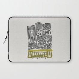 New Orleans City Cityscape Laptop Sleeve