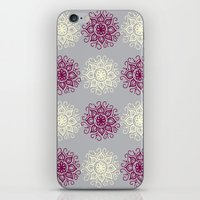 wallpaper iPhone & iPod Skins featuring wallpaper by Art Stuff
