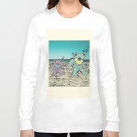 grateful dead Long Sleeve T-shirts featuring Grateful Dead Beach Cruise by Charlotte hills
