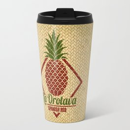 La Orotava Valley pineapple basket Travel Mug