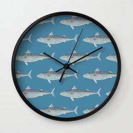 Wholly Mackerel Wall Clock