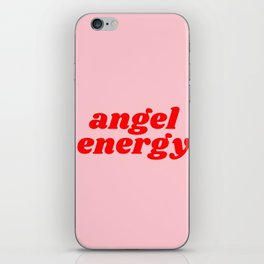 angel energy iPhone Skin