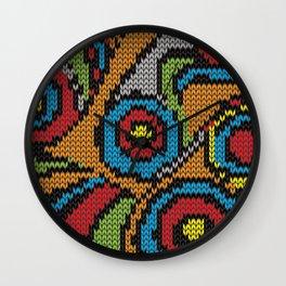 pullover circles Wall Clock