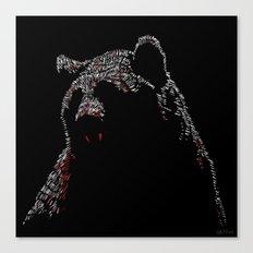 Vampire Bear Canvas Print