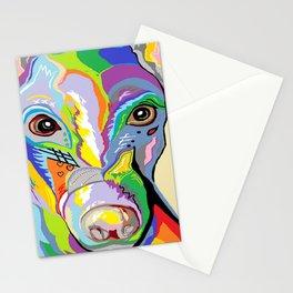 Greyhound Close Up Stationery Cards