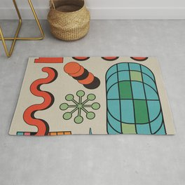 Door to the universe - full colours editions Rug