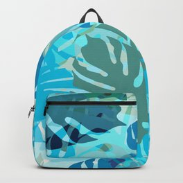 Tropical Blues Backpack