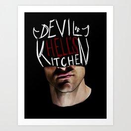 The Devil of Hell's Kitchen Art Print