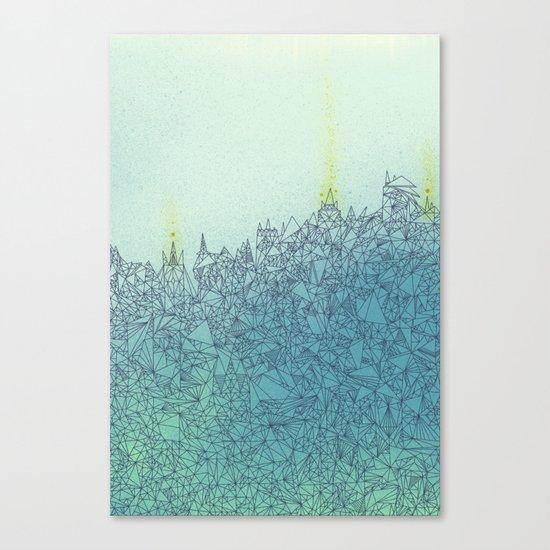 A Quiet Raft Canvas Print