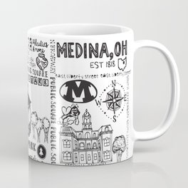 Downtown Medina Ohio Coffee Mug