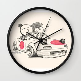Crazy Car Art 0167 Wall Clock