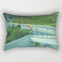 The endless view. Rectangular Pillow