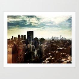 New York by iPhone 2 Art Print