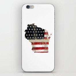 WISCONSIN FLAG iPhone Skin