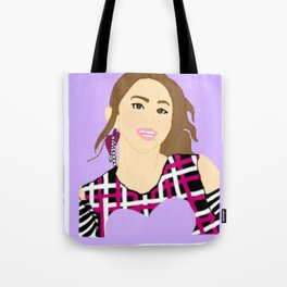 Knock Knock! Chaeyoung Purple Tote Bag