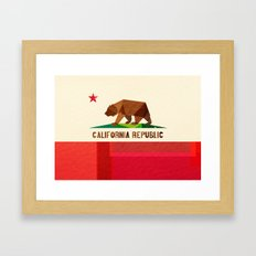 California 2 (rectangular version) Framed Art Print