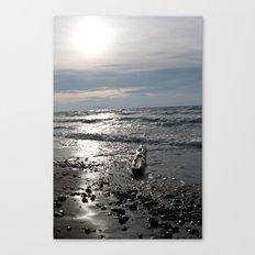 Logtrast Canvas Print