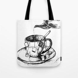 Tea Strength Maximum Tote Bag