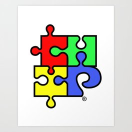 ChiPuzzle Art Print