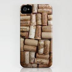 Red Wine Slim Case iPhone (4, 4s)