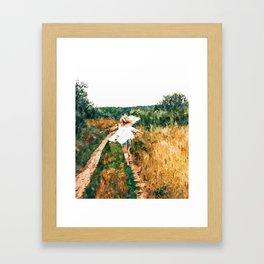 Free Spirit || #painting #nature Framed Art Print
