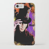 willy wonka iPhone & iPod Cases featuring Willy Wonka  by Zoé Rikardo