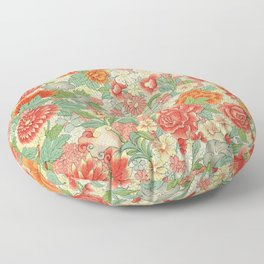 Examples of Chinese Ornament 1867 Floor Pillow