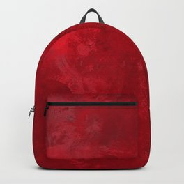 Red splashed background Backpack