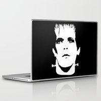 lou reed Laptop & iPad Skins featuring Lou Reed Reanimated  by Spirit Monster