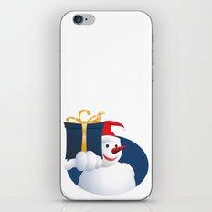 Giving Snowman... iPhone Skin