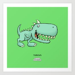 Tyrannotooth Art Print