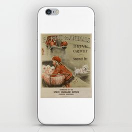 Be Kind To Animals 2 iPhone Skin