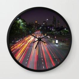 Luces de Buenos Aires Wall Clock