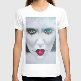 Harlequin Eyes Of A Different Color T-shirt